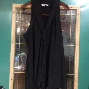 Old Navy XXL black blouse
